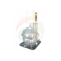 Visual tank vacuum stirring mixer